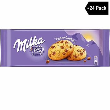 24 Pack Milka Chocolate Chip Cookies