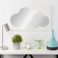 Cloud Icon Mirror 17x29 - Kate & Laurel