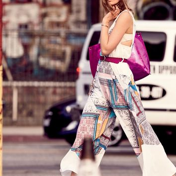 Free People All Patched Up Jumpsuit