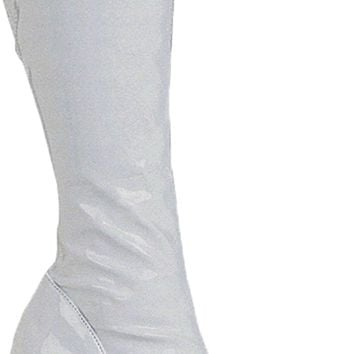Boot Chacha White Size 9 Fashion Halloween props Costumes