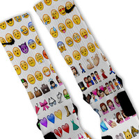 Emoji Customized Nike Elite Socks!!