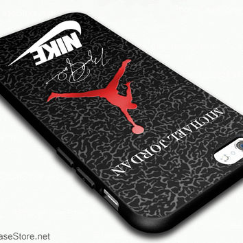 Jordan Signature Nike Case Cover For iPhone 6 / iPhone 6 Plus