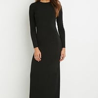 Cutout-Back Maxi Dress