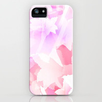 Sweet flowers iPhone & iPod Case by Claudia Owen