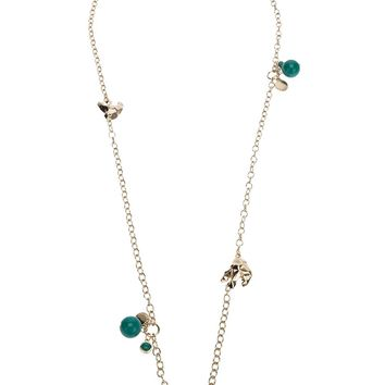 Marc By Marc Jacobs Bead Charm Necklace