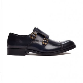 Selected Monk Strap Polido Shoe | Shop for Men's clothing | The Idle Man