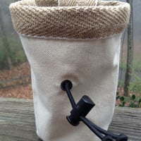 Canvas Chalk Bag for Climbing