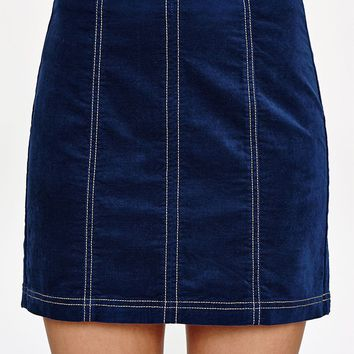 PacSun Uncut Corduroy Panel Skirt at PacSun.com