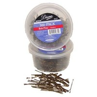 Diane Bobby Pins, Bronze, 300 Count