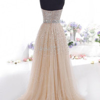Fashion Prom Dress Ladies Sexy Sleeveless Backless Maxi Dress Formal Evening Party Date Cocktail Ball Gown Dress Bridesmaid Dress = 5841924993
