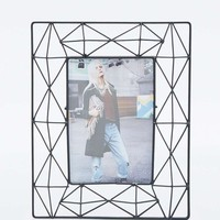 Geometric Black Frame - Urban Outfitters