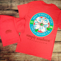 SIMPLY SOUTHERN - TIE THAT BINDS TEE