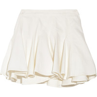 Thakoon Addition Ruffled denim skirt – 60% at THE OUTNET.COM