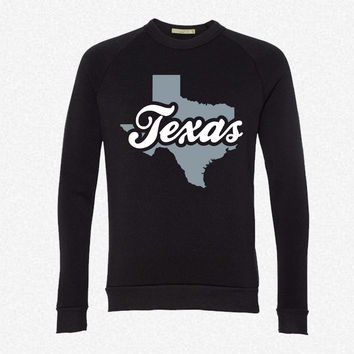 Texas fleece crewneck sweatshirt