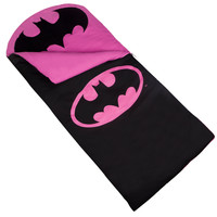Batman Pink Emblem Sleeping Bag - 17469