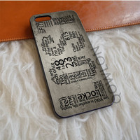 Lost TV Series Quotes iPhone 5 | 5S | SE Case