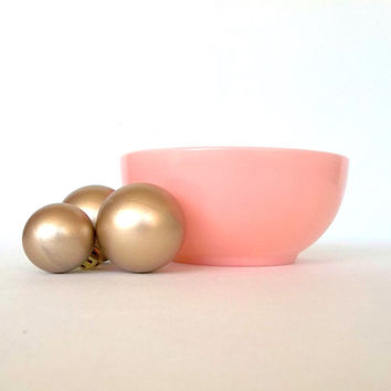 1940s Fire King Pink Cereal Bowl
