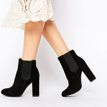 London Rebel Tonga Suede Ankle Boots