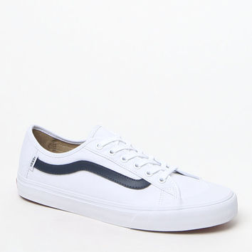 Vans Black Ball SF White & Blue Shoes at PacSun.com