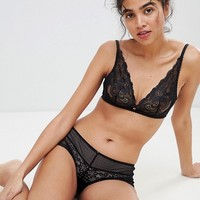Gossard lacey triangle bra at asos.com