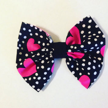 Valentine's Day Hair Bows-Mommy and Me Hair Bows