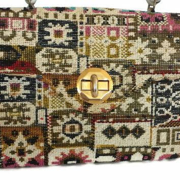 Tapestry Handbag Alma Ide Carpet Bag