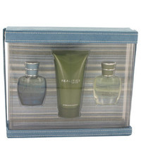 REALITIES by Liz Claiborne Gift Set -- 0.5 oz Realities Cologne Spray +0.5 oz Graphite Blue + 2.5 oz Realities After Shave Soother (Men)