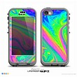 The Neon Color Fushion V3 Skin for the iPhone 5c nüüd LifeProof Case