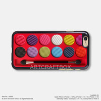 Red Make-up box Free Shipping iPhone 6 6Plus case iPhone 5s case iPhone 5C case iPhone 4 4S case Samsung galaxy Note 2 Note 3 Note 4 S3 S4 S5 case 096