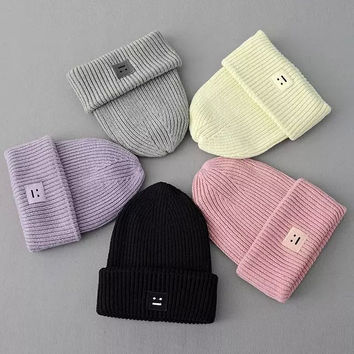 Winter Couple Thicken Knit Hats [6332303364]