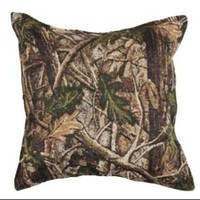 Walmart: Set of 2 Nature's Camouflage Decorative Tapestry Throw Pillows 17""