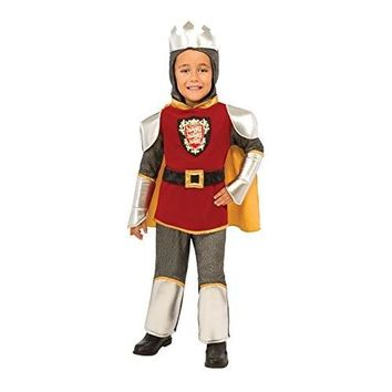 Deluxe Child Warrior King Costume, Medieval Knight