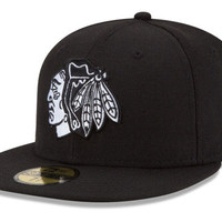 Chicago Blackhawks NHL Stanley Cup Champs Patch 59FIFTY Cap