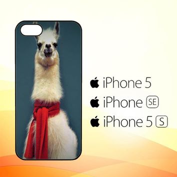 Animal Llama V0256  iPhone 5|5S|SE Case
