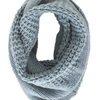 By The Fire Infinity scarf in Seafoam | Monday Dress Boutique