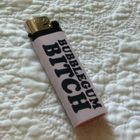 Handmade Marina and the Diamonds Bubblegum Bitch lighter