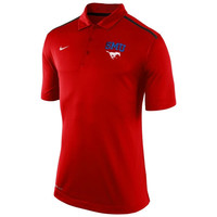 SMU Mustangs Nike Elite Coaches Sideline Performance Polo – Red