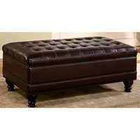 Royale Tufted Ottoman Storage Bench | Overstock.com Shopping - The Best Deals on Benches