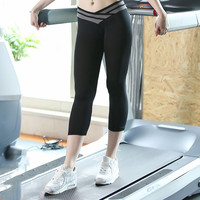 2016  New Women Black Fitness Leggings