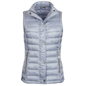 Alasdiar Quilted Gilet in Ice Blue by Barbour - FINAL SALE