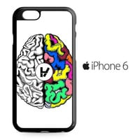 Twenty One Pilots Brains iPhone 6 Case