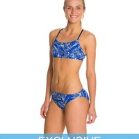 Swimoutlet Exclusive Nike Scatterbrain 2 Piece Swimsuit Set at SwimOutlet.com - Free Shipping