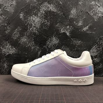 Louis Vuitton White Shoes Low-Top Sneakers - Best Deal Online