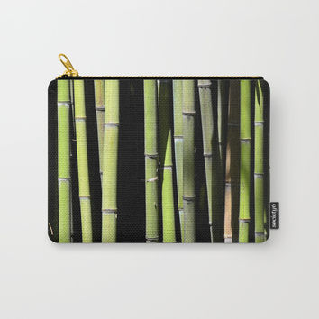 Bamboo forest Carry-All Pouch by ArtGenerations