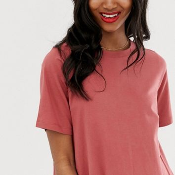 ASOS DESIGN mini t-shirt dress with smock back | ASOS