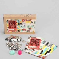 DIY Indie Button Making Kit - Brown One