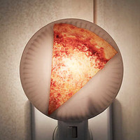 Kikkerland Pizza Night Light, Multi