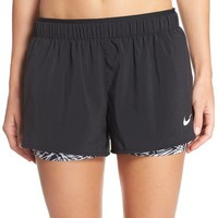 Nike 'Full Flex' Layered Track Shorts | Nordstrom