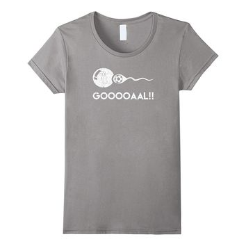 Gooooaal!! Funny Soccer Expectant Father T-Shirt