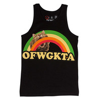 Odd Future Official Store | GIRLS RAINBOW CAT TANK BLACK